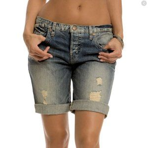 Guess Tomboy Distressed Shorts